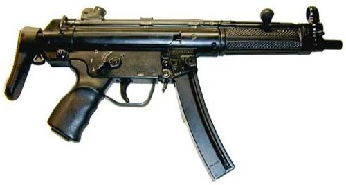 Pistoletmitrailleurmp5