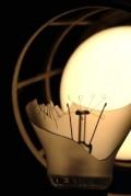 Ampoule prête à griller