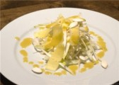 Salade blanche de légumes d'hiver