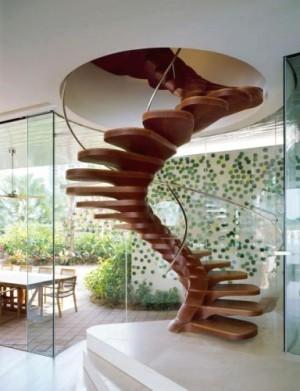 Escalier ''casse-gueule''