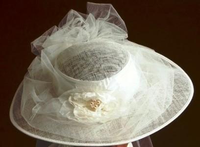 Chapeau mariée
