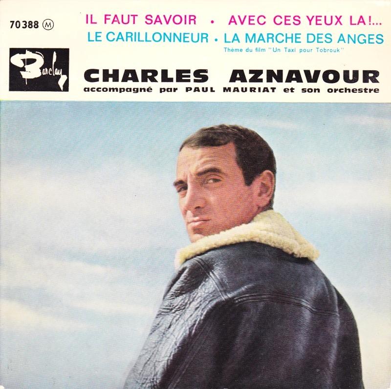 Il faut savoir - Aznavour, 1961