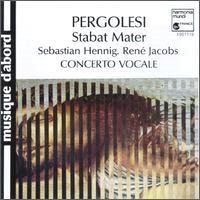 Stabat Mater Pergolèse Harmonia Mundi