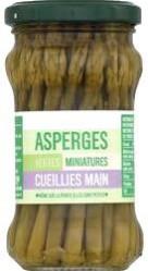 Asperges vertes miniatures