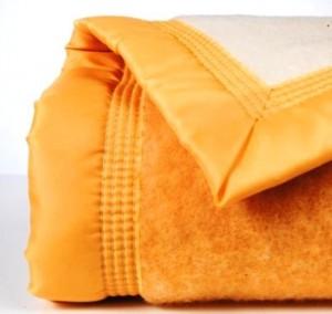 Couverture laine woolmark