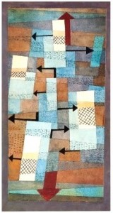 Equilibre instable - Paul Klee, 1940