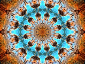 Image kaleidoscopique