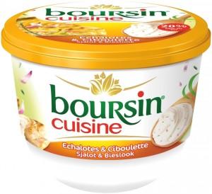 Boursin cuisine Échalotes & Ciboulette