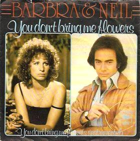 You don't bring me flower - Barbra Streisand & Neil Diamond (1978)