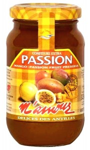 Confiture extra mangue passion M'amour