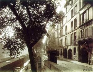 Quai d'Anjou (1924 - Eugène Atget)