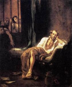 Tasso à l'hôpital de St Anne Ferrara (Eugène Delacroix)