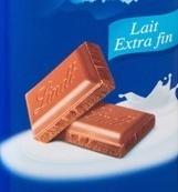 Carrés Lindt lait extra fin