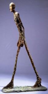 Alberto Giacometti, « L'homme qui marche » (1961)