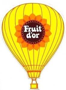 Ballon Fruit d'Or