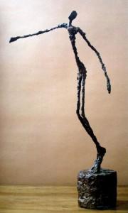 « L'homme qui chavire » (Giacometti, 1950)