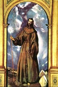 Bernardin de Sienne par Le Greco