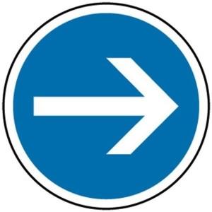 Panneau directionnel