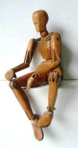 Pantin de bois