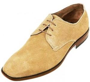 Chaussures de ville (suédine beige)