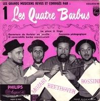 La pince à linge - Les Quatre barbus (1955)