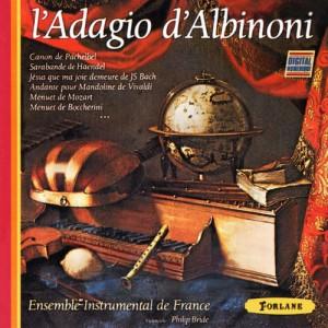 L'Adagio d'Albinoni (Ed. Forlane)
