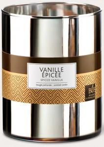 Bougie vanille épicée