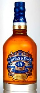 Chivas Regal scotch whiskey