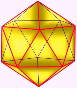 Icosaèdre régulier