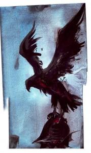 L'aigle du casque