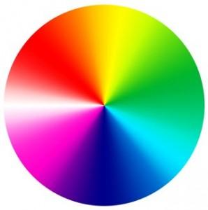 Disque de couleurs