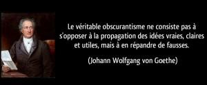 Obscurantisme (Goethe)