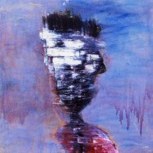 Un visage flou (par Mi Ryoung CHOI)
