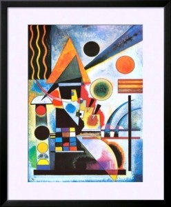 Balancement by Wassily Kandinsky