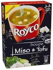 Soupe Miso & Tofu (Royco)