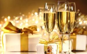 Fête au champagne