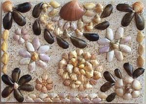 Tableau de coquillages