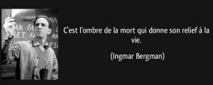 La mort selon Bergman