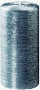 Bougie gris soie