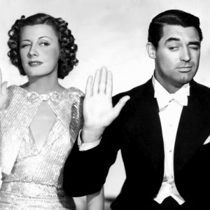 THE AWFUL TRUTH, Irene Dunne, Cary Grant, 1937
