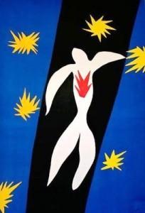 La chute d'Icare, par Henri Matisse (1947)
