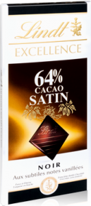 Lindt Excellence Noir 64% Satin