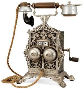 Téléphone à manivelle
