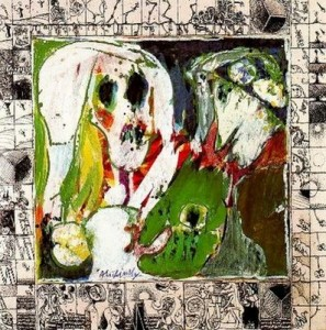 La jeune fille et la mort - Pierre Alechinsky (1966-67)
