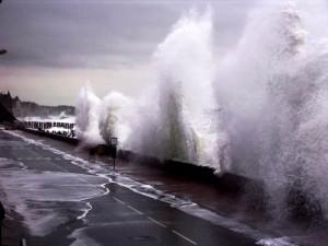 Grande marée (Le Sillon)