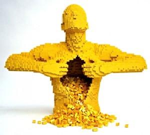 Rire (muet) jaune