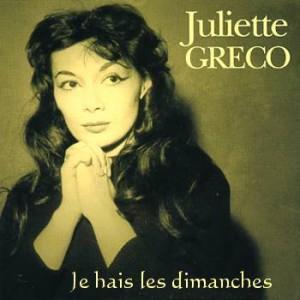 Je hais les dimanches - Juliette Gréco (1952)