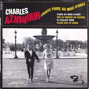 Paris au mois d'août - Charles Aznavour (1966)