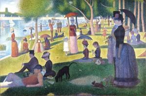 Un dimanche après-midi à l'Île de la Grande Jatte (Georges Seurat, 1884-1886)