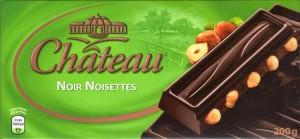 Château noir noisettes